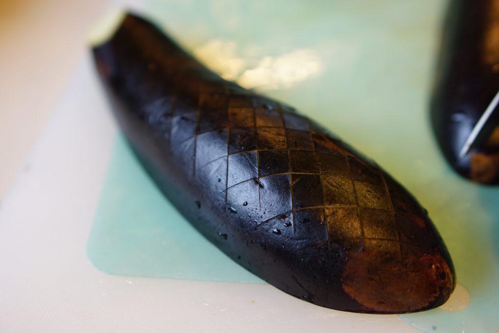 Eggplant Agebitashi - Preparation