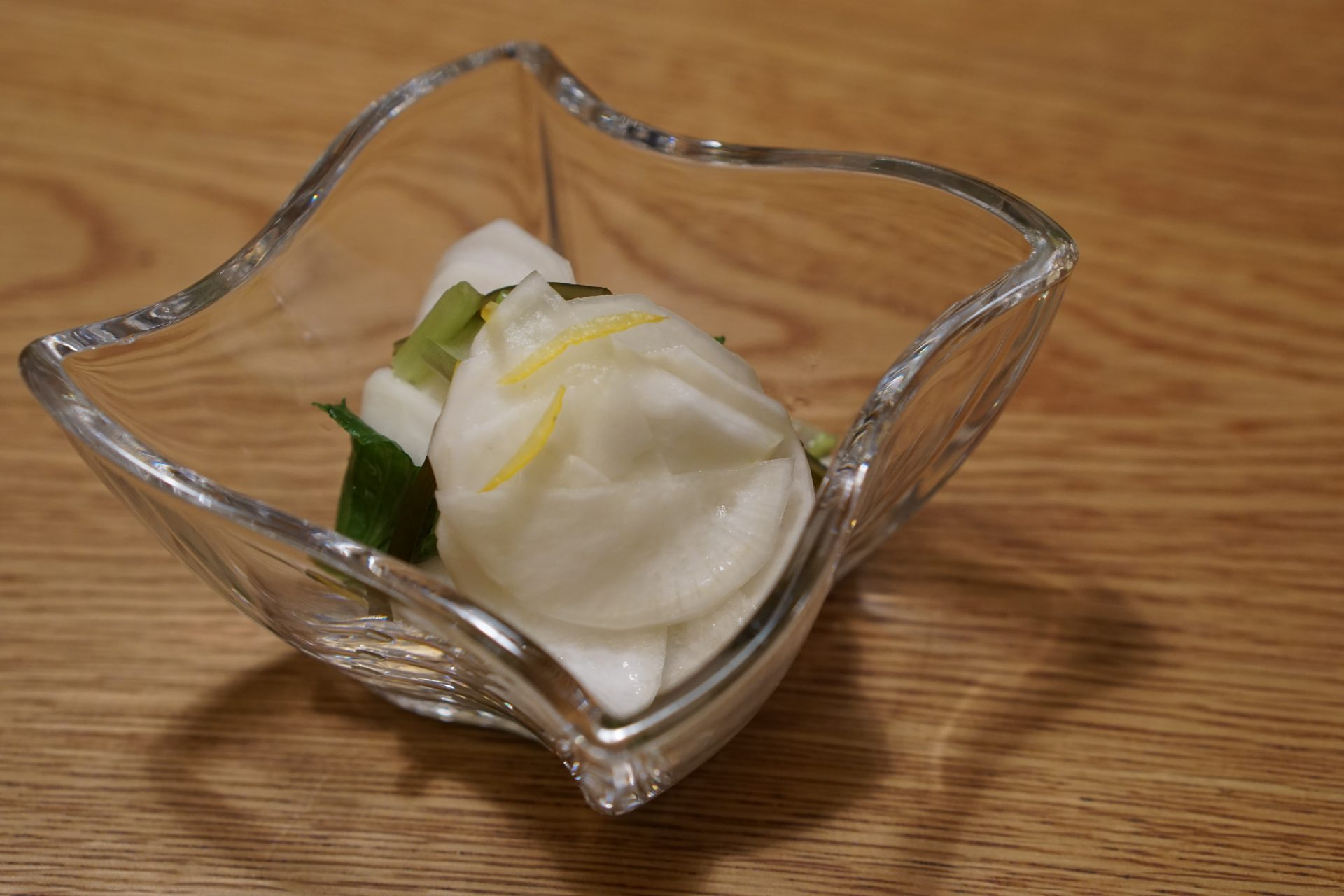 Lightly Pickled Turnip