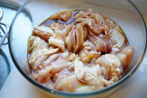 Chicken Tatsutaage (aka Karaage) - Step1