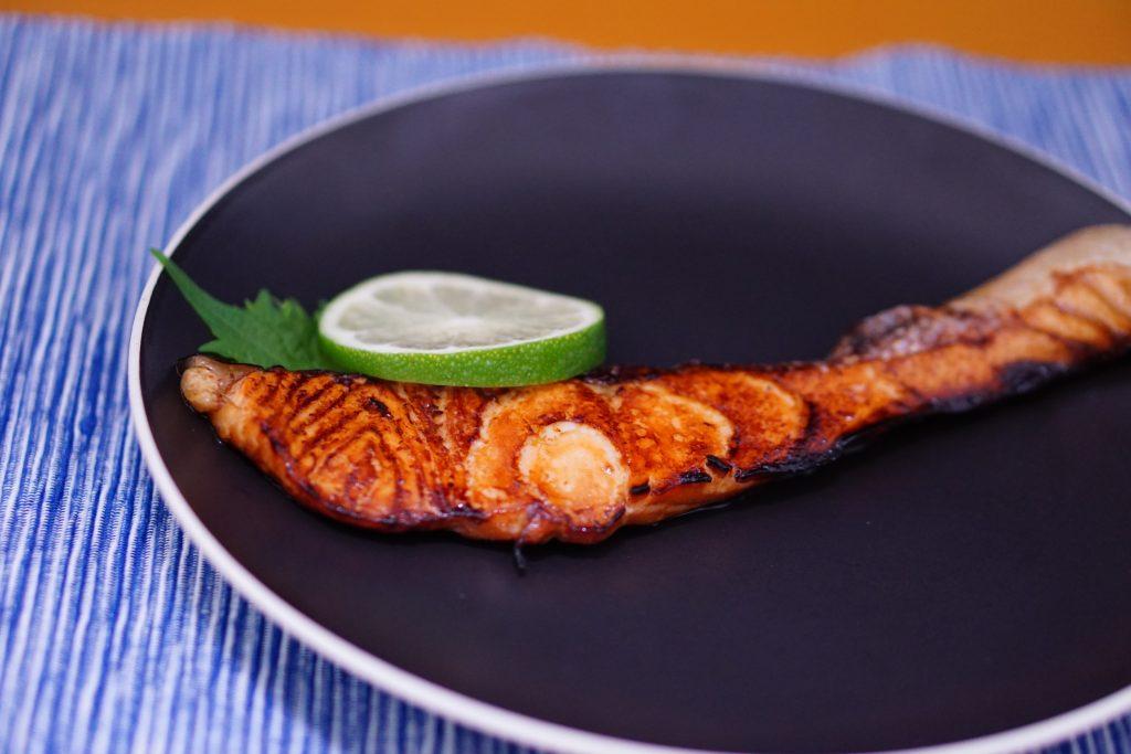 Yuanyaki Salmon