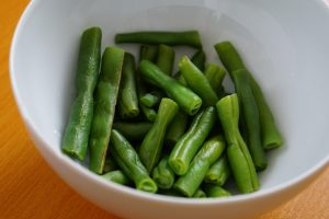 Green Beans and Corn with Sesame - Step2