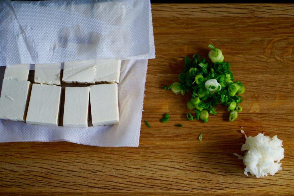 Agedashi tofu - Preparation