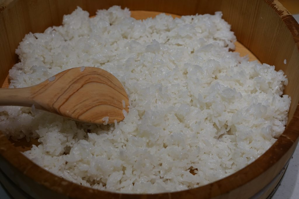 How to make sushi rice - Step2