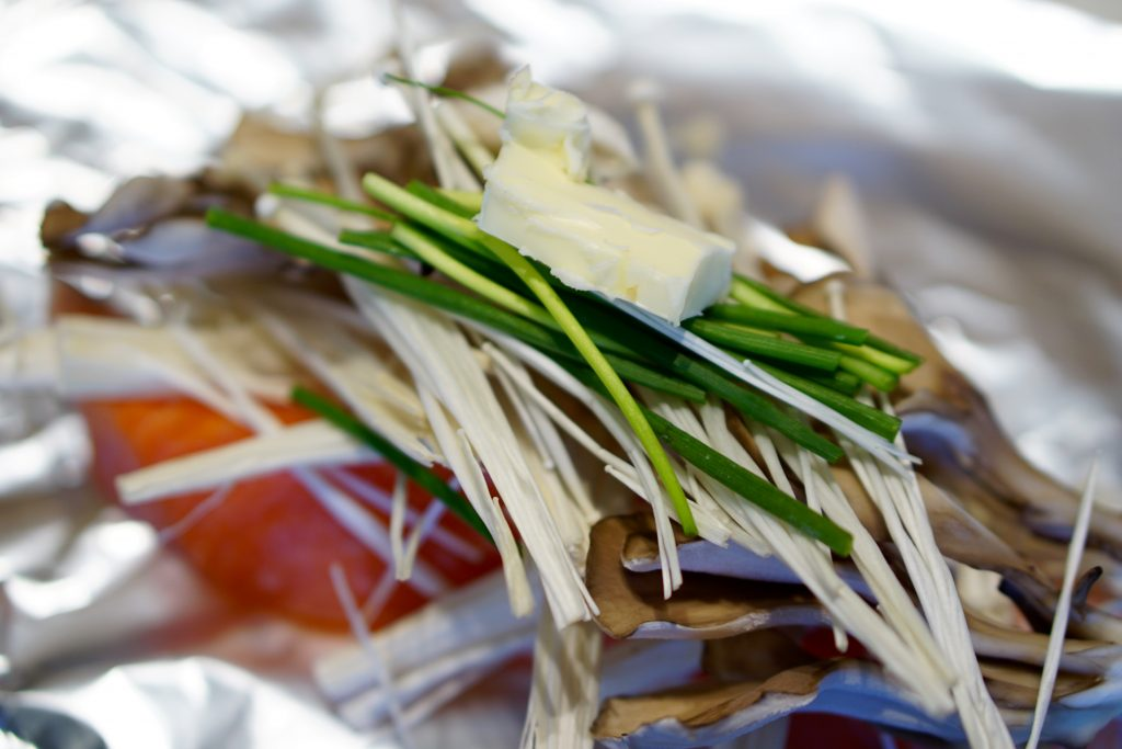 Tsutsumi-yaki Salmon - Step1