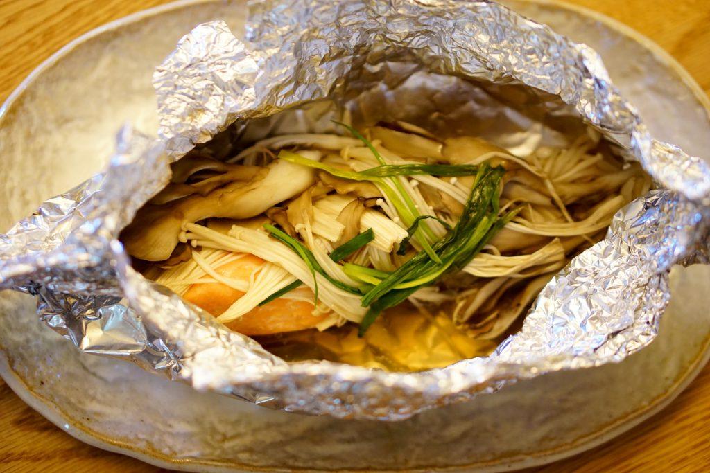 Tsutsumi-yaki Salmon - Step3