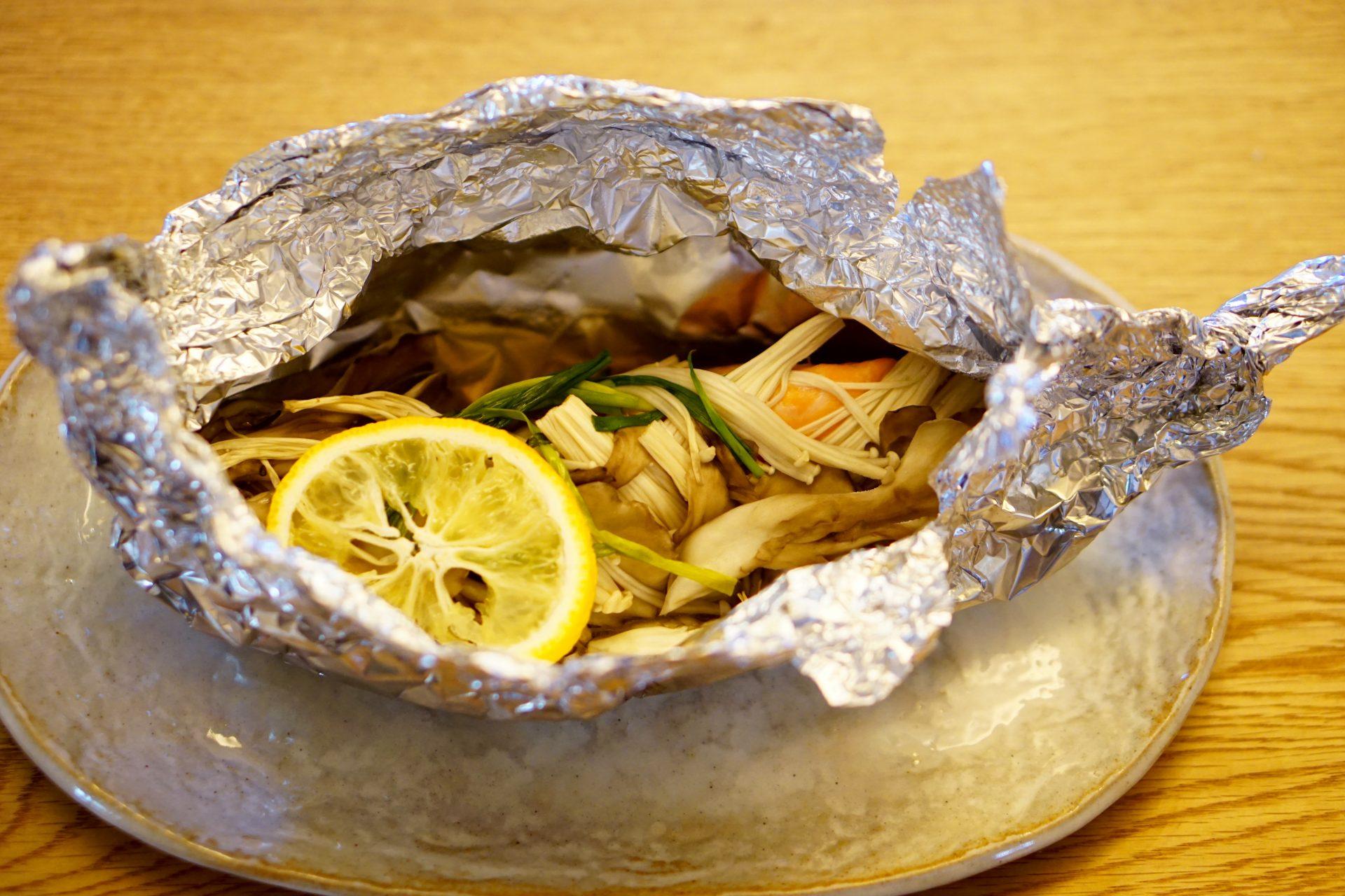 Tsutsumi-yaki Salmon