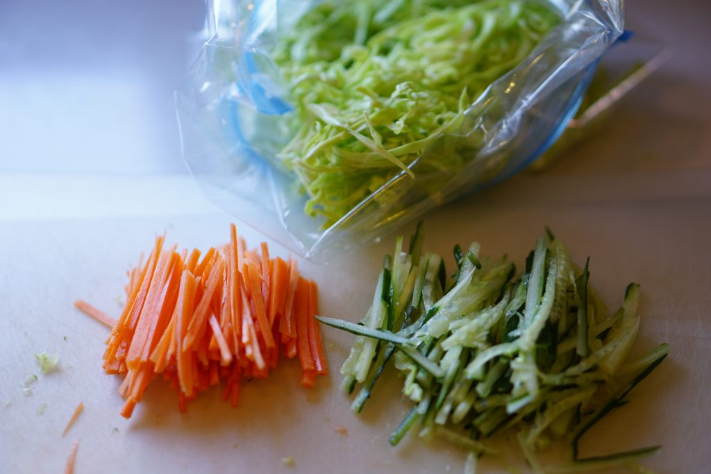 Lightly Pickled Cabbage Salad - Step1