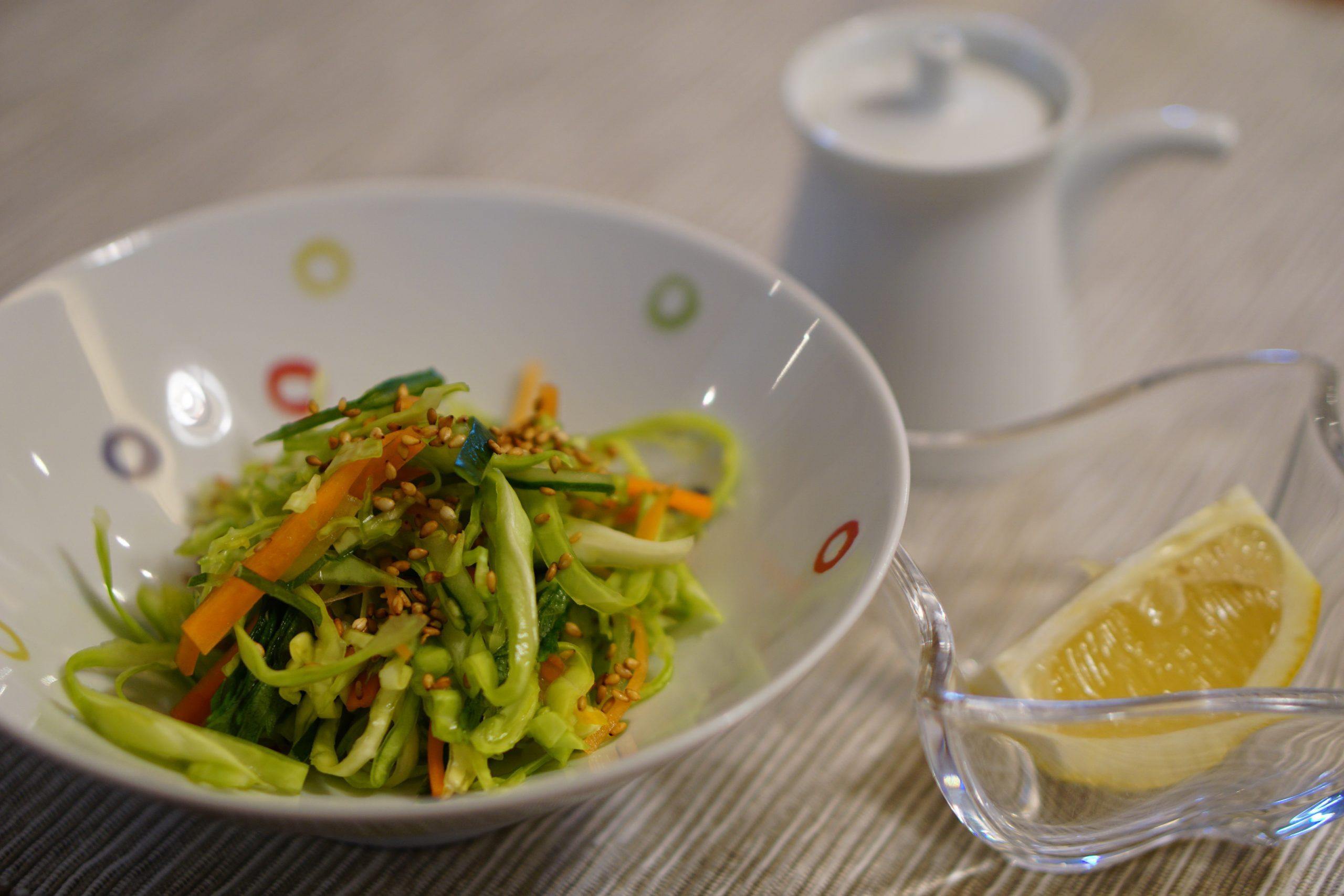 Lightly Pickled Cabbage Salad