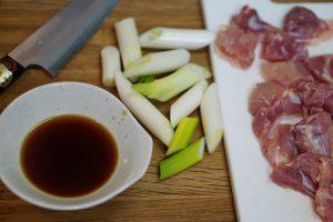 Kuwayaki Chicken - Preparation