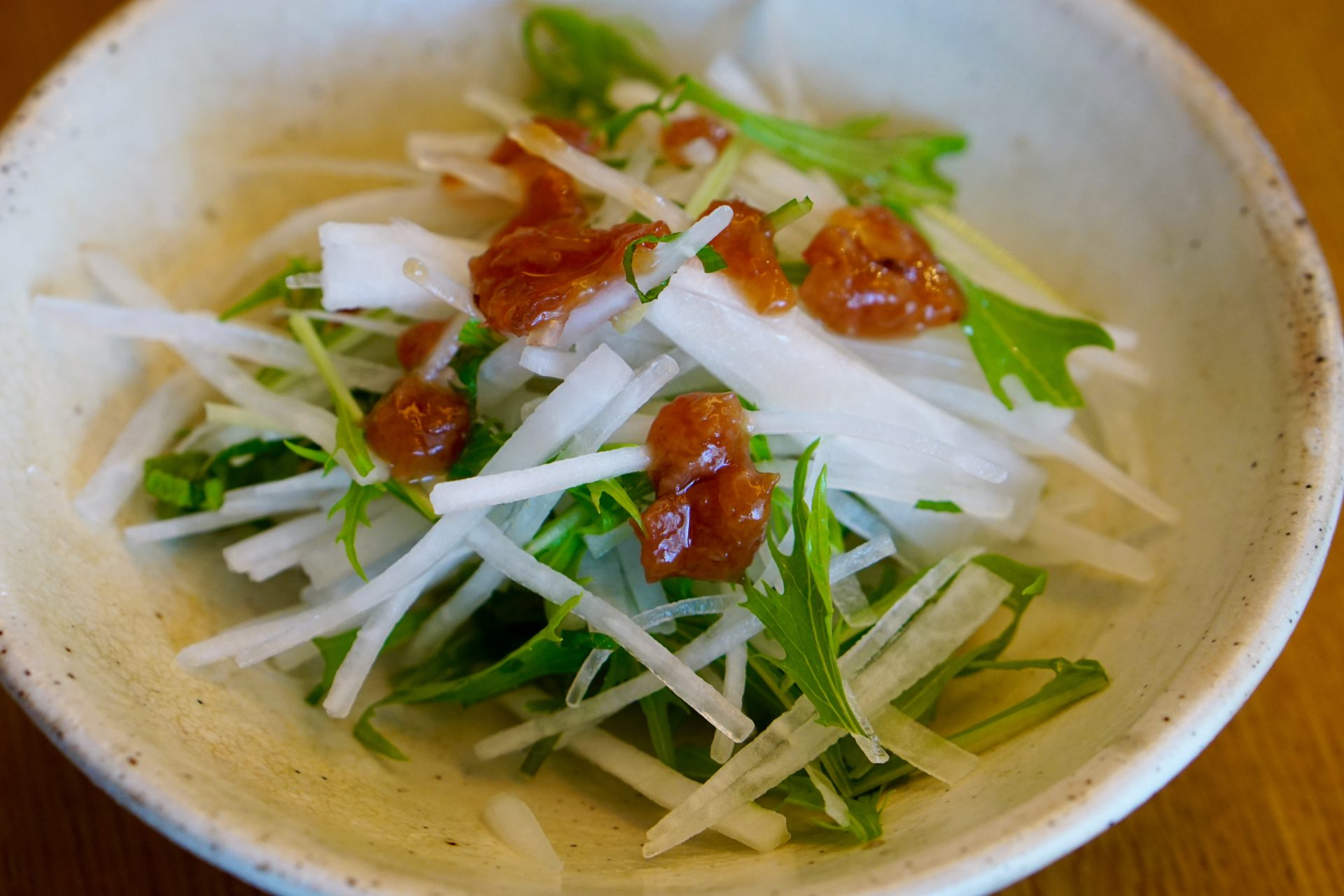 Daikon Salad with Ume-Ae