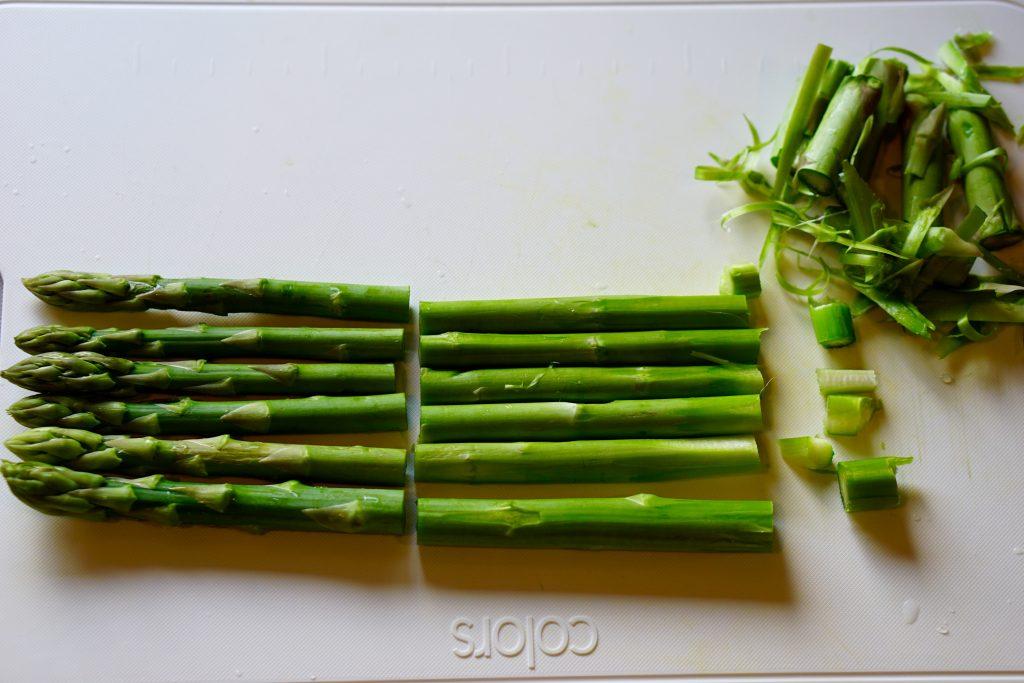 Kombu-Flavoured Asparagus - Preparation