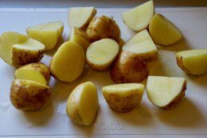 Teriyaki Potatoes - Preparation