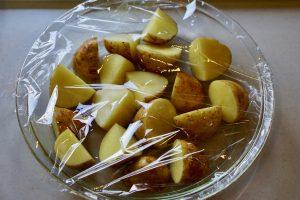 Teriyaki Potatoes - Step1