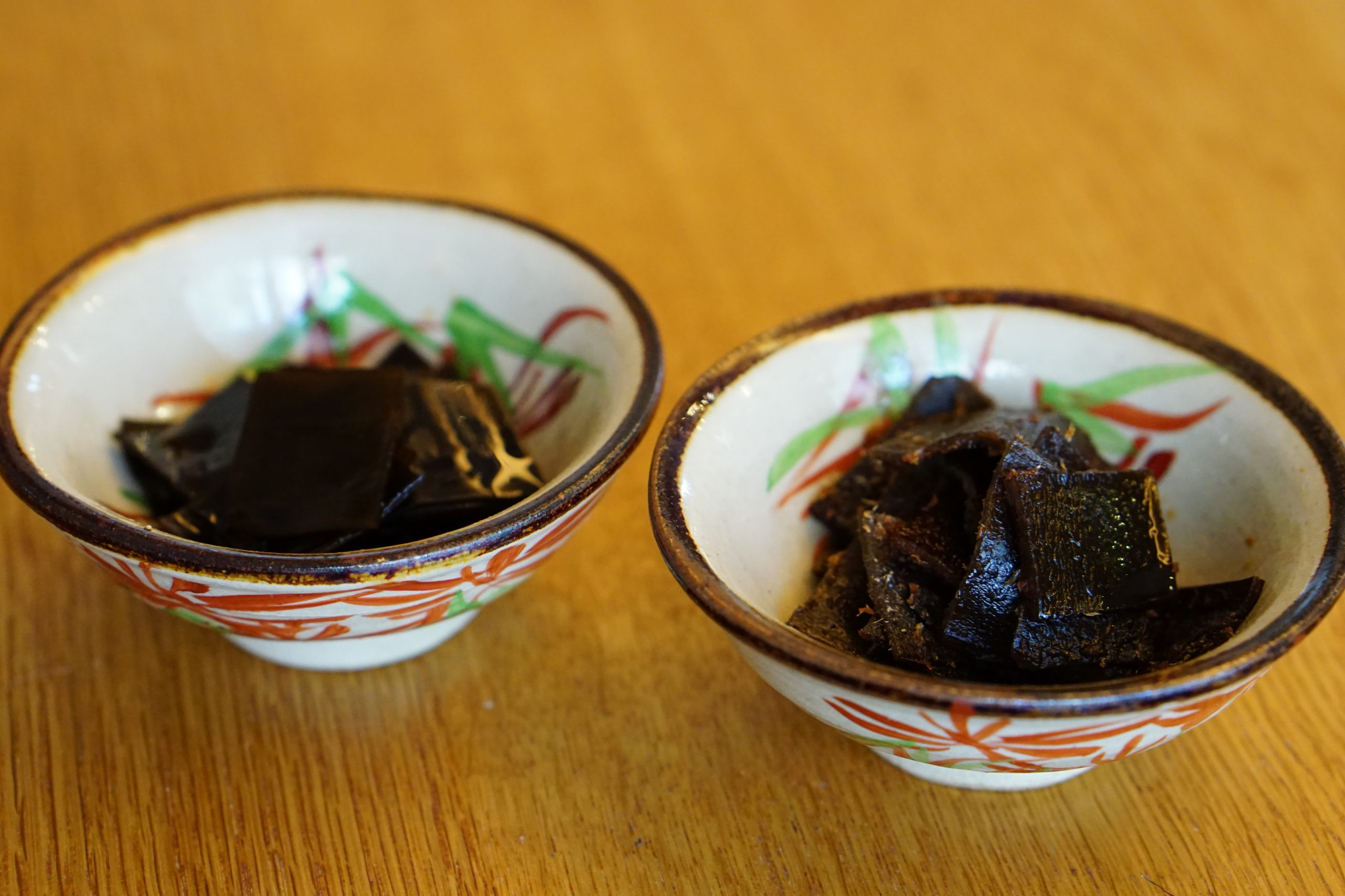 Kombu Tsukudani and Okaka Kombu