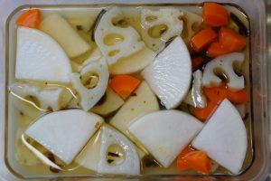 Sweet and Sour Pickled Root Vegetables - Step3