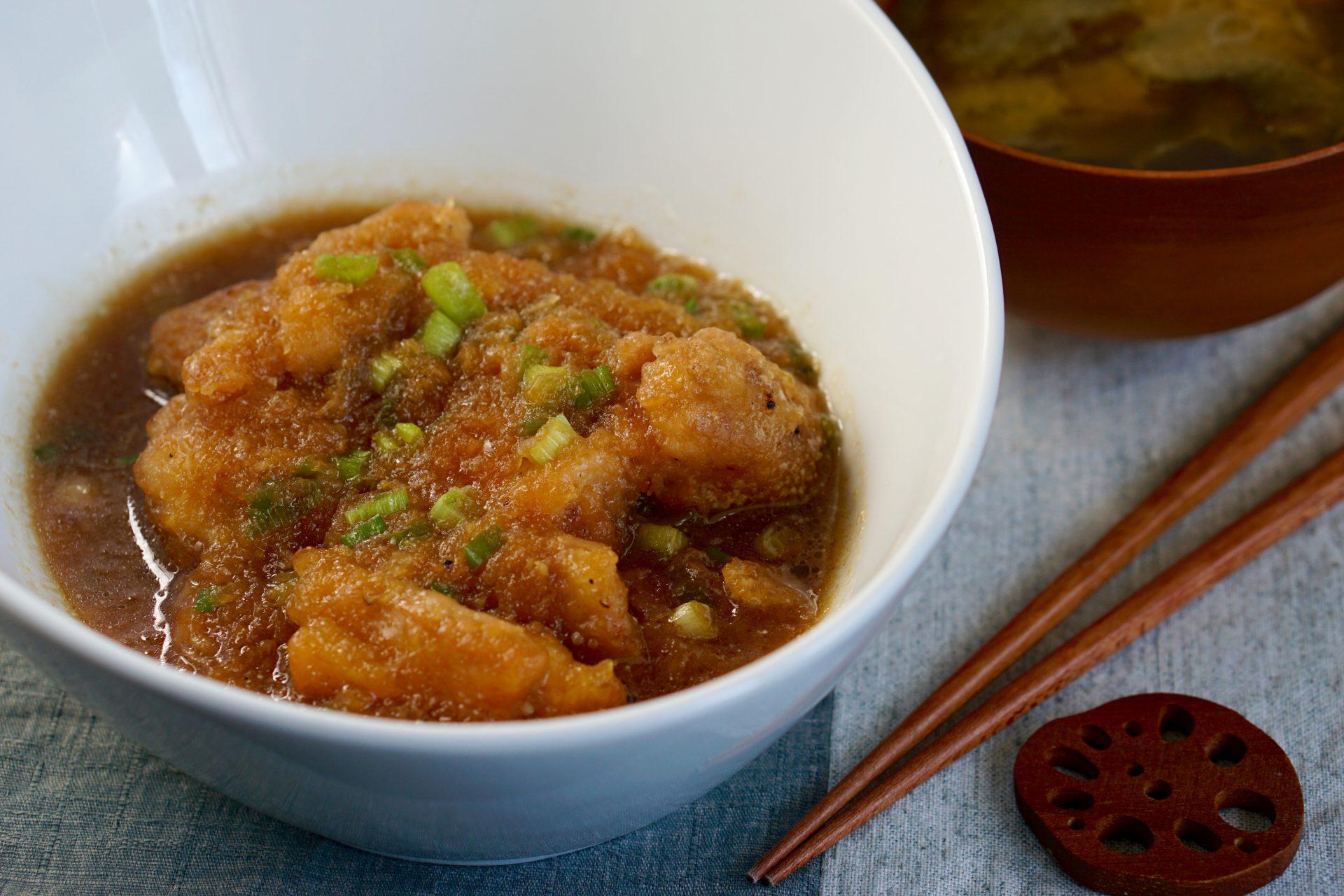 Juicy Chicken Mizore-ni