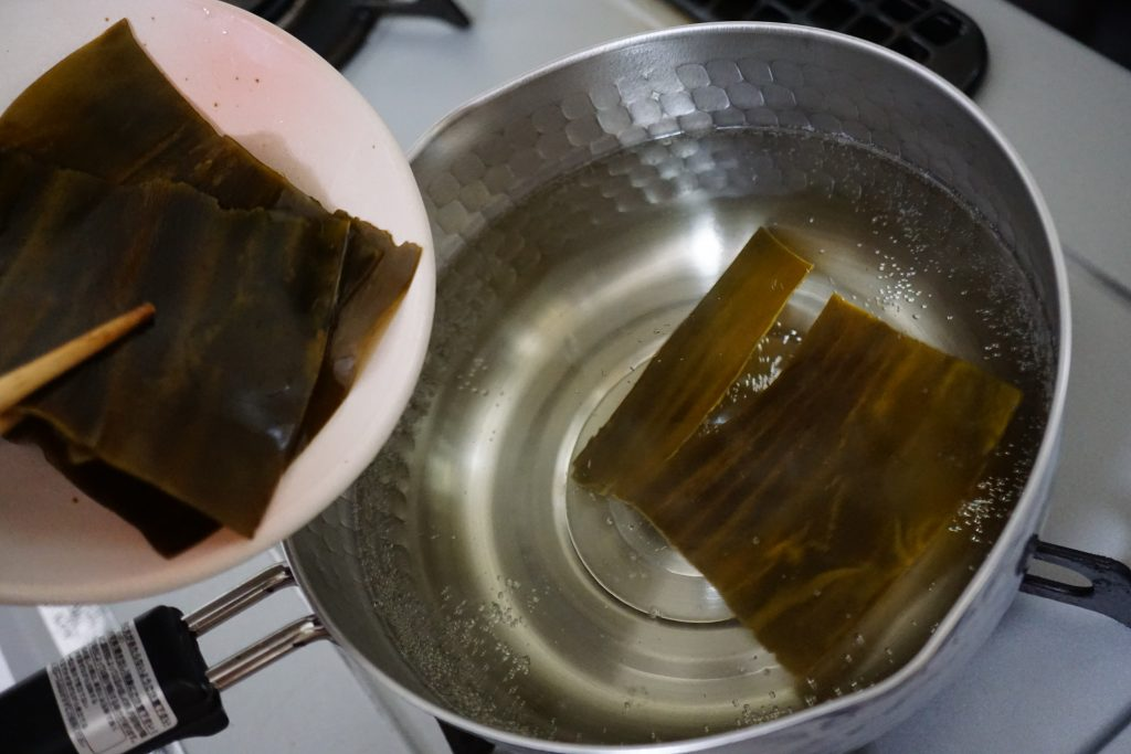 How to make your own dashi - Step1